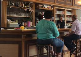 Chaleureux bar de la brasserie